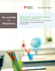 Attendance Works California Use Data to Determine Need for Additional Support