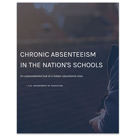 CHRONIC ABSENTEEISM IN THE NATION'S SCHOOLS